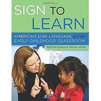 Teken om te leren: American Sign Language in de vroege jeugd klas