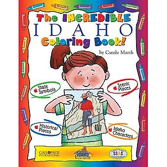 Le livre de coloriage Idaho incroyable!