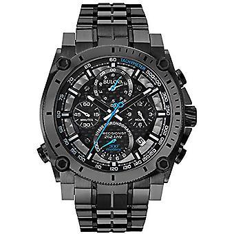 Hommes quartz chronographe Bulova avec 98B229 bracelet en acier inoxydable