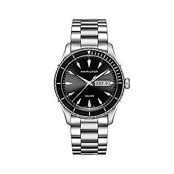 Hamilton Mens Quartz analoge horloge met stalen band H37511131