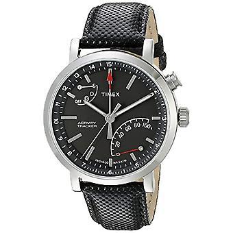 Timex miesten monen dial kvartsi kello nahka TW2P81700
