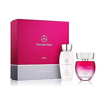 Mercedes-Benz Rose voor vrouwen Eau de Toilette Gift Set 60ml
