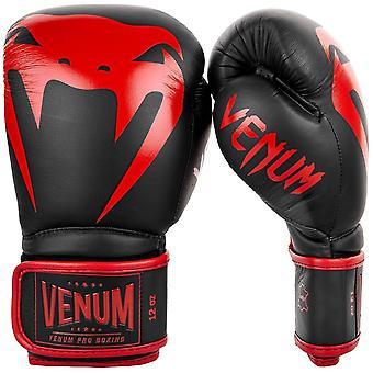 Pro gants de boxe Venum Giant 2.0 noir/rouge