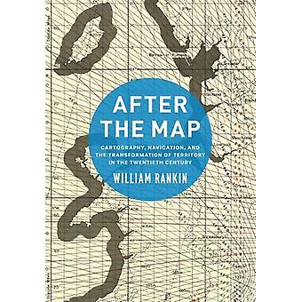 Efter den karta - kartografi - navigationen- och omvandlingen av T