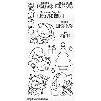 My Favorite Things Happy Pawlidays Clear Stamps (BB-51)