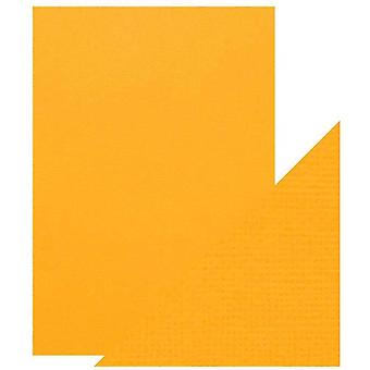 Craft Perfect by Tonic Studios A4 Classic Card Mustard Yellow | Pack of 5