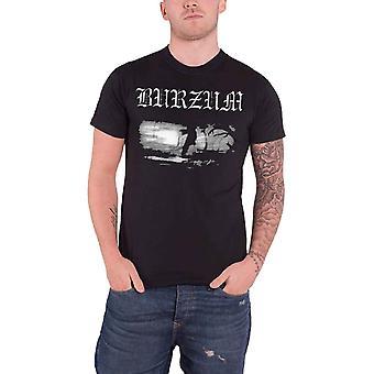 Burzum T Shirt Aske 2013 Band Logo Official Mens New Black