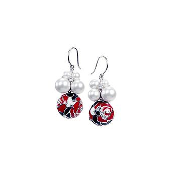 Belle Etoile Botanique Red Earrings 3030911004