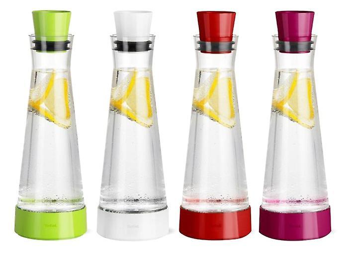 Tefal Flow Slim Friends 1L Glass Carafe Jug Decanter Integrated Cooling Element