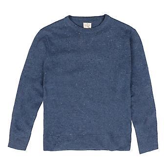 Hartford crew hals Pullover, blauw
