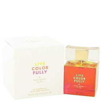 Live Colorfully By Kate Spade Eau De Parfum Spray 3.4 Oz (women) V728-516499