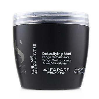 Alfaparf Semi Di Lino Sublime Detoxifying Mud (all Hair Types) - 500ml/21.1oz
