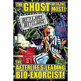 Poster - Studio B - Beetlejuice - Collage 36x24