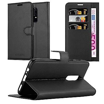 Cadorabo Case for One Plus 6 Case Cover - Phone Case with Magnetic Closure, Stand Function and Card Compartment - Case Cover Case Case Case Case Book Folding Style
