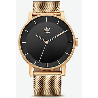Adidas district_m1 japanska kvarts analog Women ' s Watch med rostfrittstål armband Z041604-00