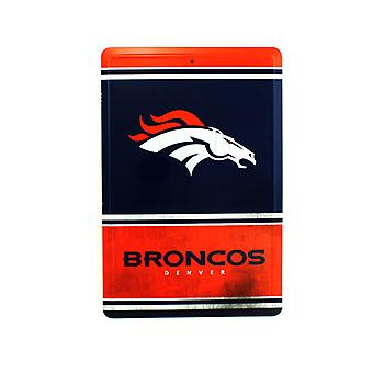 Denver Broncos NFL Team Logo Tin Sign