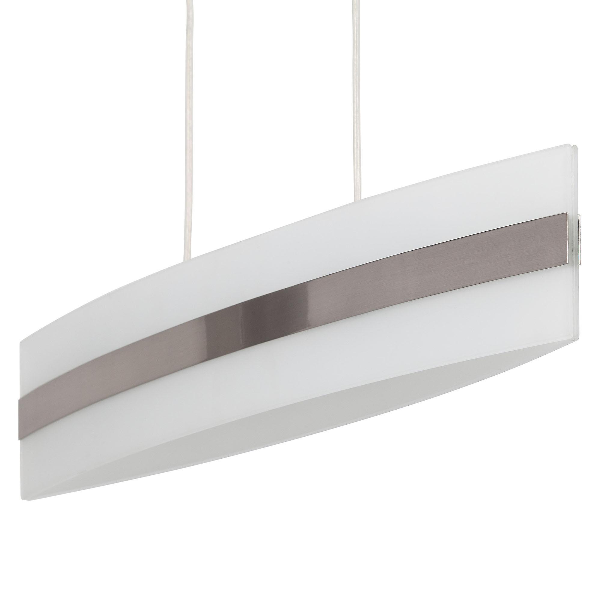 Brilliant Lampe First Pendelleuchte 4flg eisen/weiß