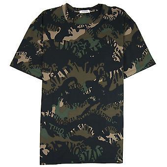 Valentino Camouflage Valentino T-shirt Camo