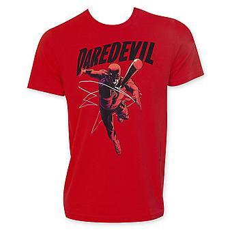 Daredevil aanval rode mannen ' s T-shirt