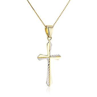 ZEEme 500341050-38Z - Pendant with children's chain - yellow gold 8k (333) - 380 mm