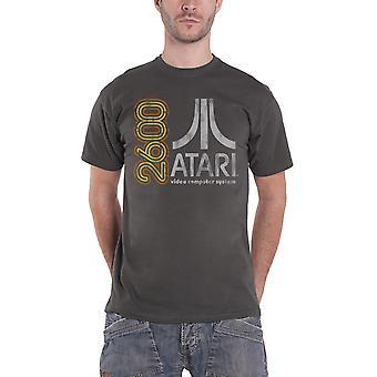 Урожай ретро-игр Atari 2600 T рубашка Мужская Новый официальный серый