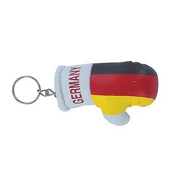 Cle Cles sleutel vlag Duitsland Duitse bokshandschoenen vlag sleutelhanger