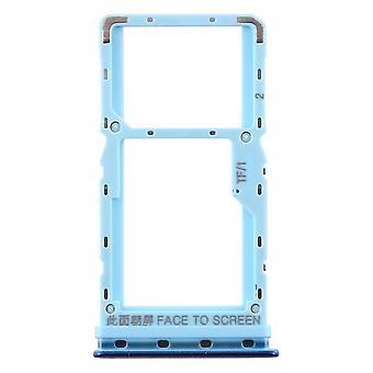 Taca na karty SIM dla Xiaomi Mi A3 Niebieskie karty Posiadacz akwenaty naprawa części zamiennych