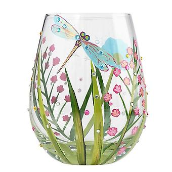 Lolita Dragonfly Stemless Glass, Tumbler