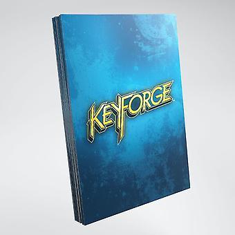 Keyforge Logo Card Mangas Azul (40) Paquete Individual