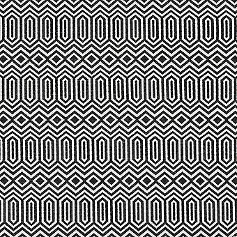 Mcalister textiles colorado tissu noir géométrique