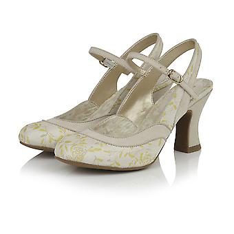 Ruby Shoo Femmes apos;s Lucia Brocade Slingback Bar Chaussure
