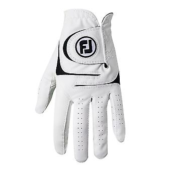 Footjoy Mens WeatherSof Cabretta Cuir All Weather 3 Pack LH Golf Glove