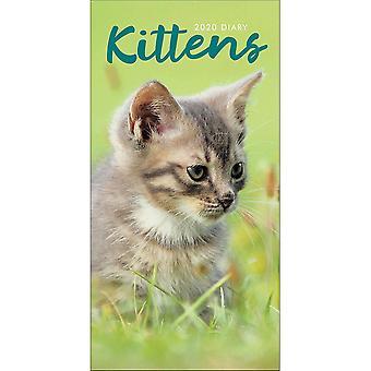 Otter House 2020 Slim Diary - Kittens