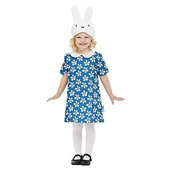 Toddlers Miffy Floral Fancy Dress Costume