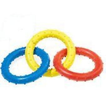 Classic For Pets Triple Ring Rub Tug 190mm (Honden , Speelgoed en sport , Bijtringen)
