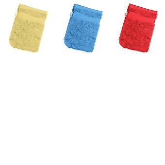 Jassz Travel Washing Glove/Bag (350 GSM) (Pack of 2)