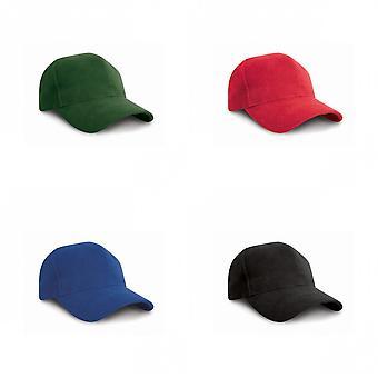 Como resultado de la gorra de béisbol de algodón cepillado pesado estilo Pro (Pack de 2)