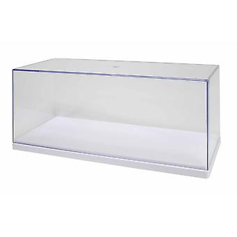 1-24 Acrylic Stackable Showcase White Base