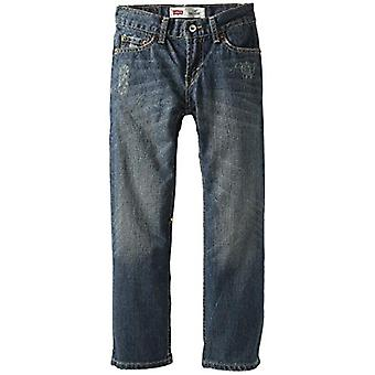 Levi's Boys' Big 514 Straight Fit Jeans, Atlas, 14 Slim