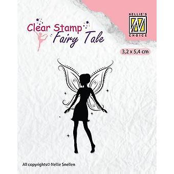 Nellie-apos;s Choice Clearstamp silhouette Conte de féeS Nr 15 FTCS0015