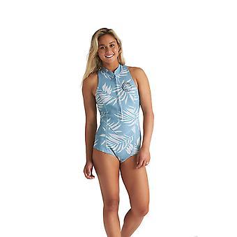 بيلابونغ المالحة دايز بلا أكمام ملابس السباحة النيوبرين في النخيل الأزرق