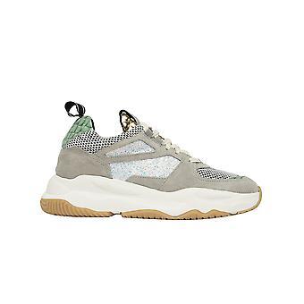P448 S20lukewbubblegol Women's Grey Leather Sneakers
