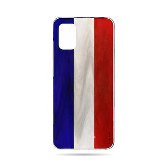 Hull For Samsung Galaxy A71 Souple French Vintage Flag