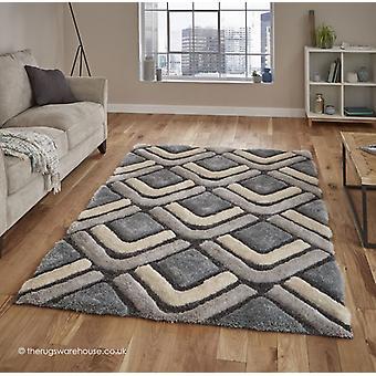 Oscar grijs blauw tapijt