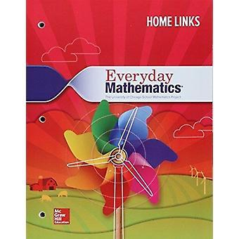 Alledaagse Wiskunde 4 Grade 1 Verbruiksbare Home Links door gemaakt door McGraw Hill