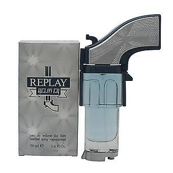 Replay Relover Eau de Toilette 50ml EDT Spray