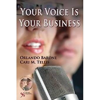 Your Voice is Your Business DVD by Orlando R. Barone - Cari M. Tellis