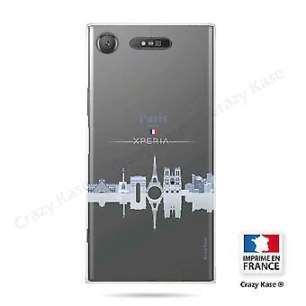 Rumpf für Sony Xperia Xz1 Flexible Monuments De Paris