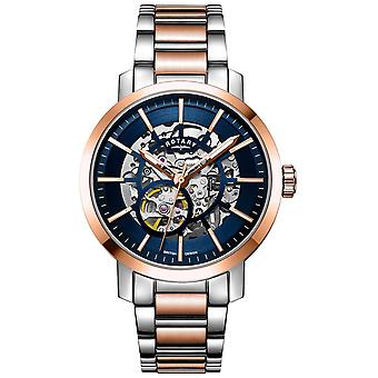 Rotary Greenwich G2 Automatic | Two-Tone Bracelet | Skeleton Dial GB05352/05 Watch