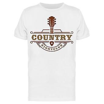 Country Nightclub Tee Men's -Kuva Shutterstock